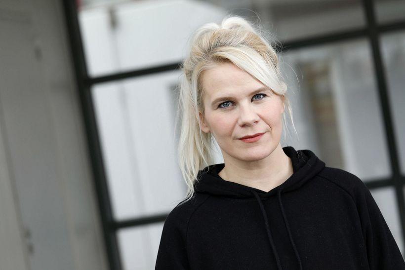Kamilla Einarsdóttir bókavörður.