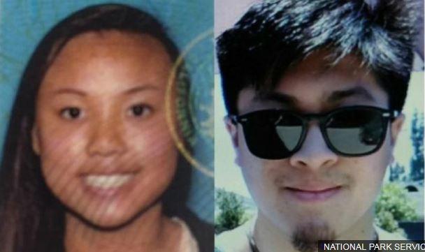 Rachel Nguyen og Joseph Orbeso virðast hafa villst af leið ...