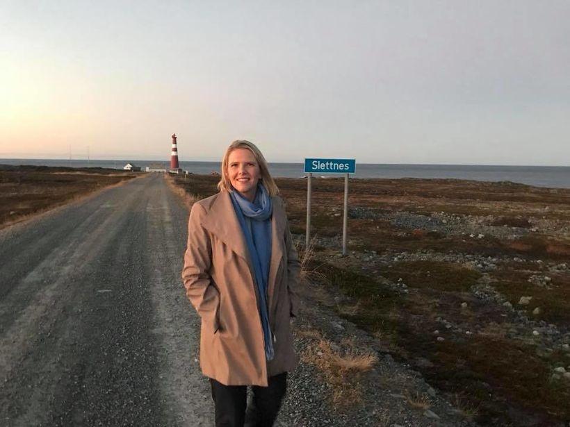 Sylvi Listhaug, ráðherra innflytjendamála og þingmaður Framfaraflokksins í Noregi,