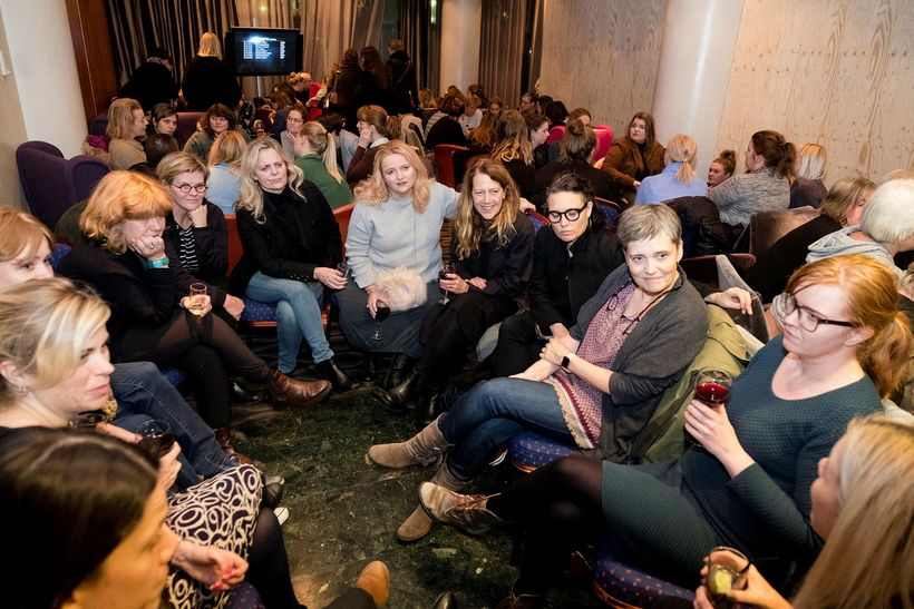 Icelandic women flocked to a meeting about a new women's ...