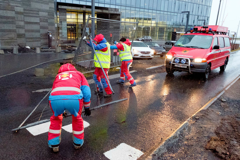 ICE-SAR members in Reykjavik