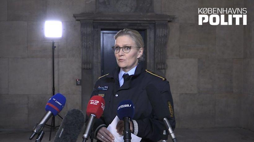 Anne Tønnes, lögreglustjóri í Kaupmannahöfn.