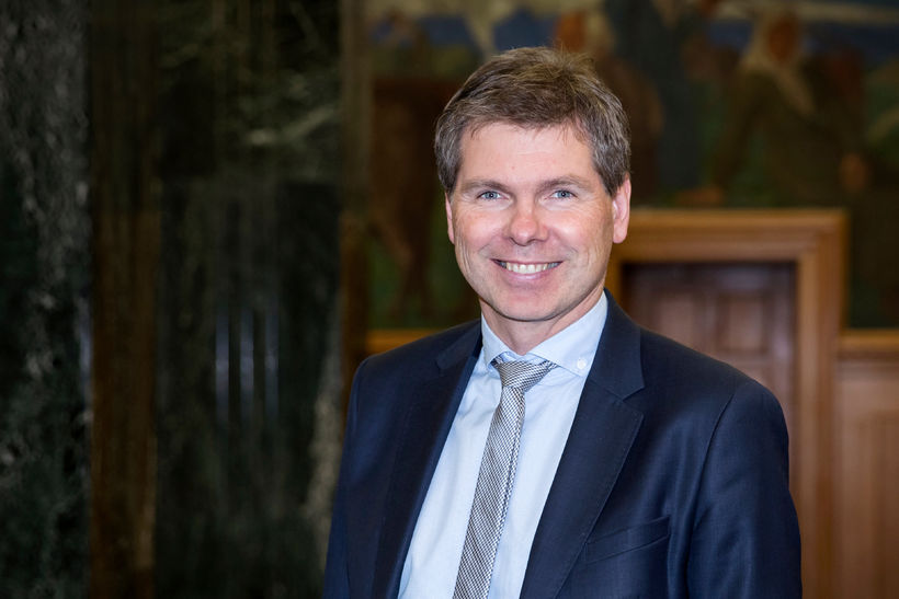 Þorsteinn Stefánsson, forstöðumaður viðskiptalausna á fyrirtækjasviði Landsbankans.