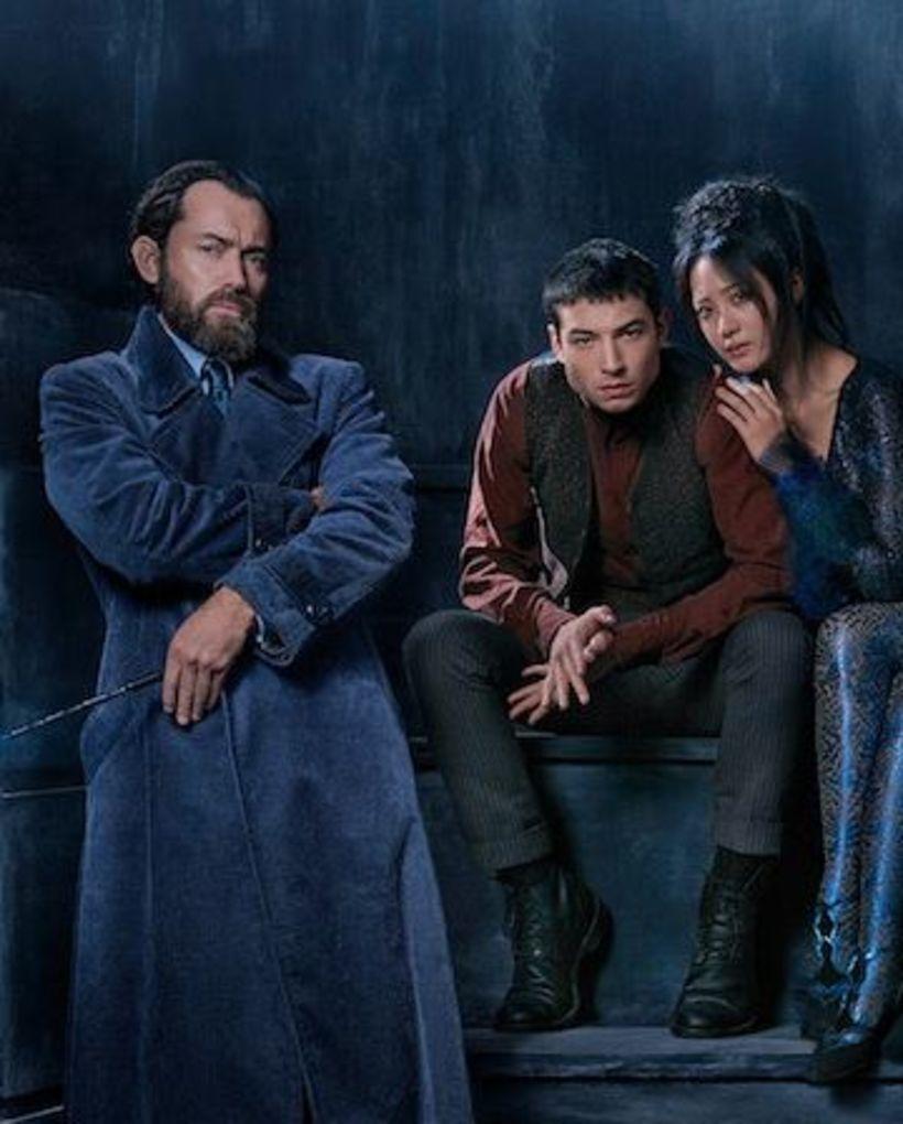 Jude Law leikur Dumbledore á sínum yngri árum.