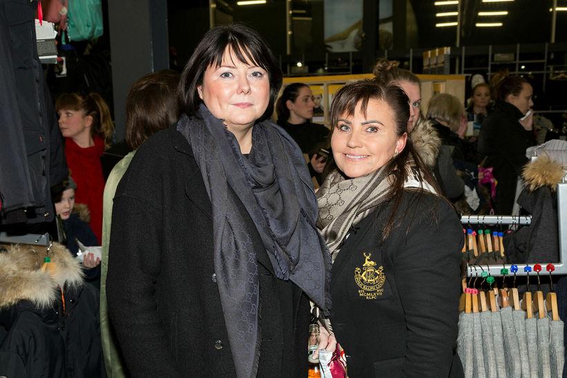Jóhanna Gústafsdóttir og Sigríður Sigurðardóttir.