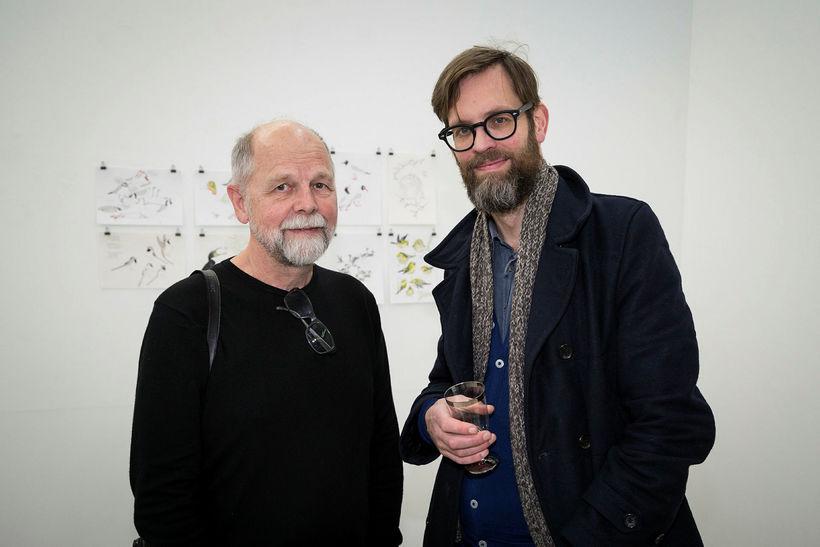 Guðjón Einarsson og Sigurjón Árni Guðmundsson.
