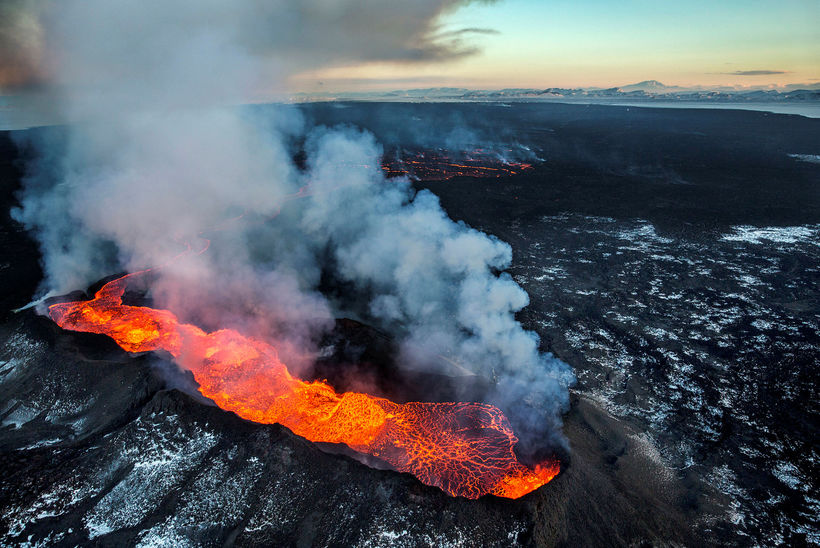 The eruption in Holuhraun in 2014-15
