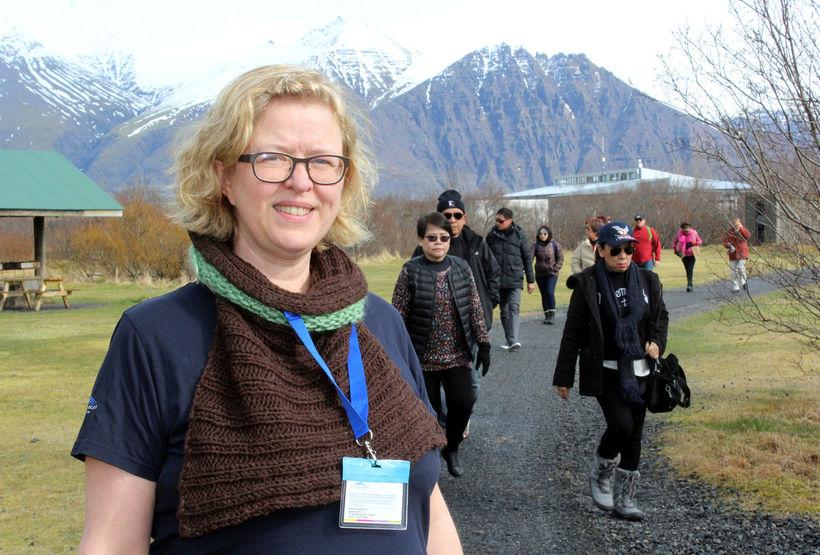 Sigrún Sigurgeirsdóttir, landvörður í Vatnajökulsþjóðgarði, er fædd og uppalin í ...