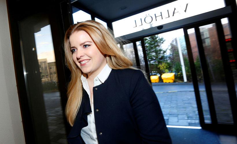 Áslaug Arna Sigurbjörnsdóttir is the vice chairman of the Independence ...