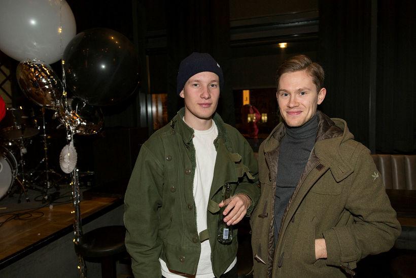 Hlynur Snær Andrason og Einar Lövdahl.