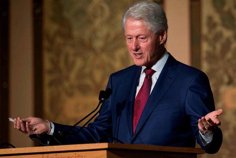 Bill Clinton, fyrrverandi forseti Bandaríkjanna.
