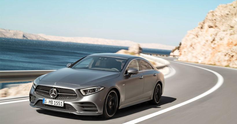 Hinn nýi Mercedes-Benz CLS.