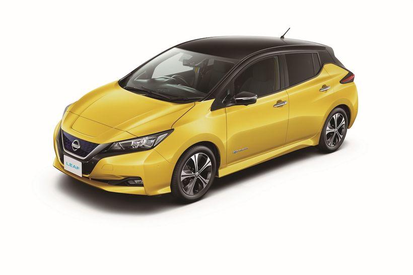 Nissan Leaf hinn nýi verður í gjörbreyttu útliti.