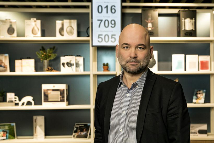 Bjarki Pétursson, forstöðumaður fyrirtækjasölu hjá Símanum.