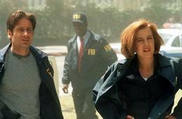 Atriði úr X-Files kvikmyndinni sem var frumsýnd árið 1998.