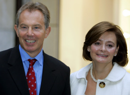 Tony og Cherie Blair.