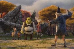 Úr nýjustu teiknimyndinni Shrek 3.