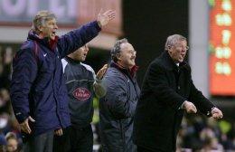 Arsene Wenger og Alex Ferguson takast á í dag með ...