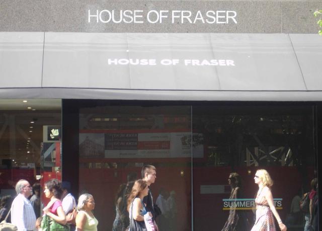 House of Fraser í Oxford Street.