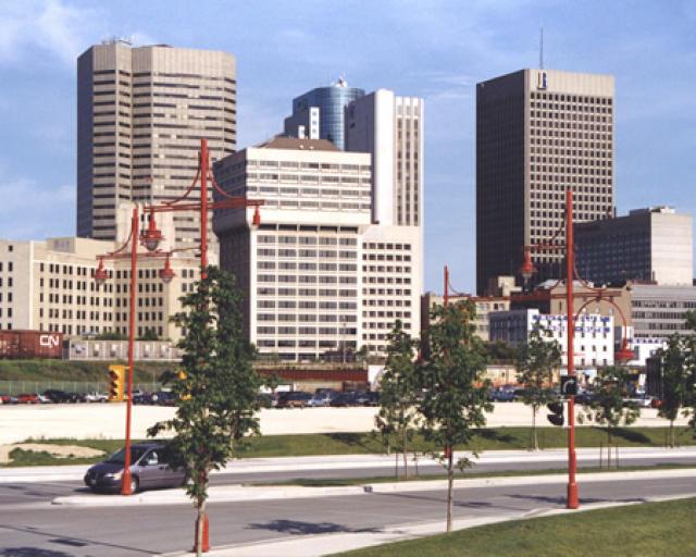 Fjölskyldan frá Filippseyjum hyggst hefja nýtt í líf í Winnipeg.