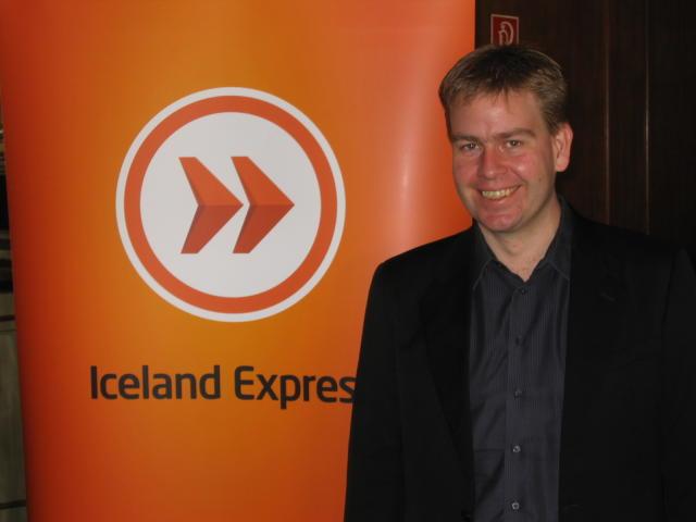 Matthías Imsland, forstjóri Iceland Express.