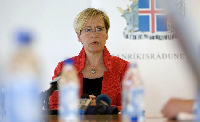 Ingibjörg Sólrún Gísladóttir utanríkisráðherra.