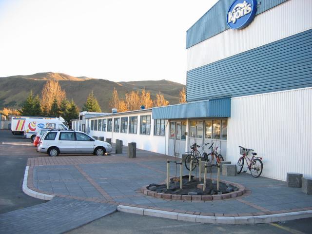 Hús Kjörís í Hveragerði