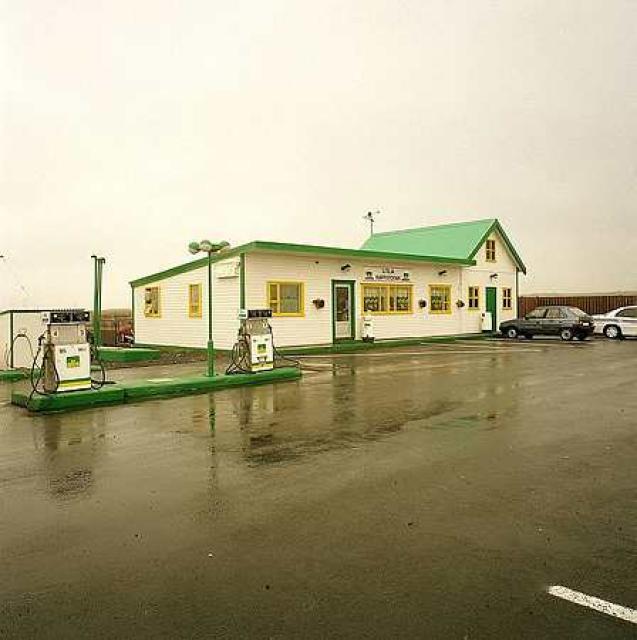 Vélhjólaslys átti sér stað við Litlu Kaffistofuna í dag þegar ...