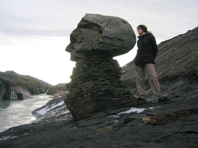 Gljúfrabúinn í Sauðafelli á Brúardölum, við vatnsborð Jökulsár á Dal.