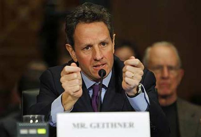 Timothy Geithner, fjármálaráðherra Bandaríkjanna.