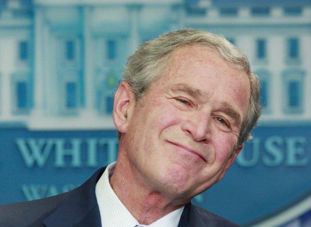 George W. Bush kveðst hafa gert það sem gera þurfti ...