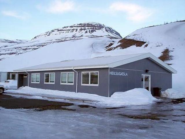 Heilsugæsla Fjarðabyggðar á Reyðarfirði.