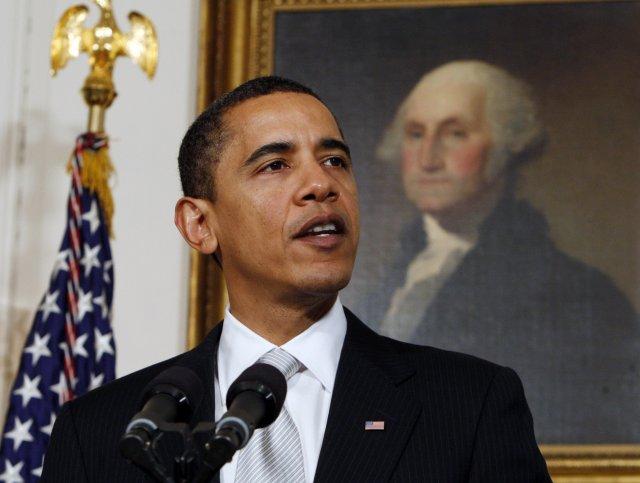 Barack Obama, forseti Bandaríkjanna, hefur haft í nógu að snúast.