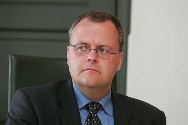 Gylfi Magnússon, viðskiptaráðherra.