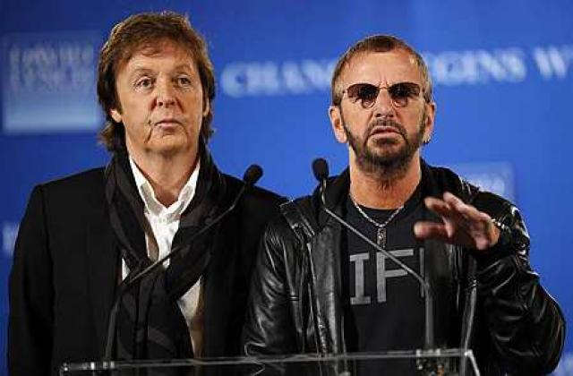 Bítlarnir Paul og Ringo missa brátt stefgjöldin fyrir elstu lög ...
