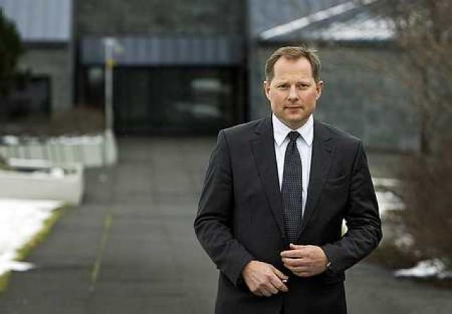 Svein Harald Øygard seðlabankastjóri