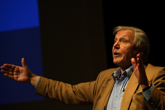 David Attenborough sótti Ísland heim fyrir um 5 árum og ...