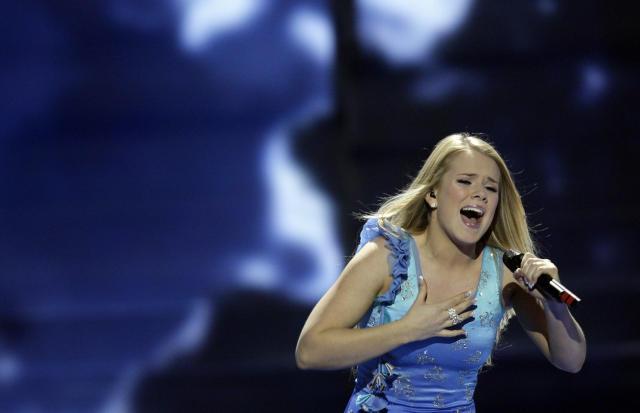 Jóhanna Guðrún í Moskvu.