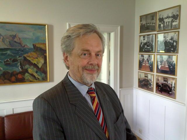Svavar Gestsson, fyrrverandi þingmaður og ráðherra.