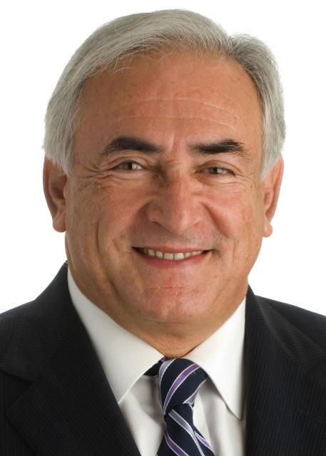 Dominique Strauss-Kahn, aðalframkvæmdastjóra Alþjóðagjaldeyrissjóðsins.