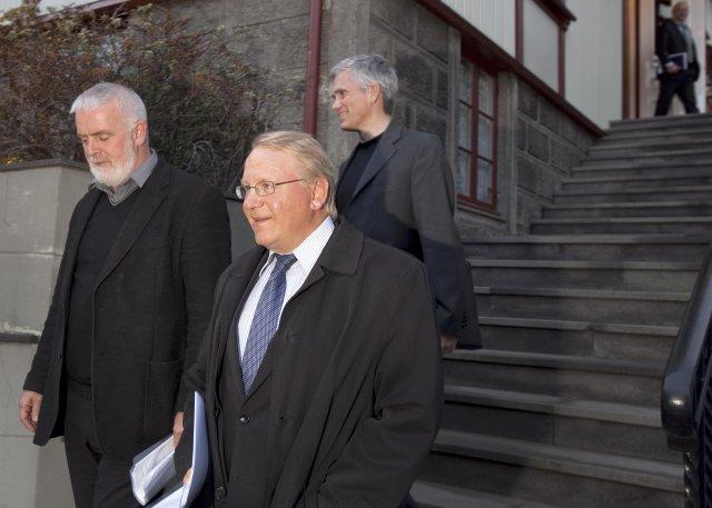 Vilhjálmur Egilsson og Gylfi Arnbjörnsson, forseti ASÍ, eiga sitthvað vantalað ...