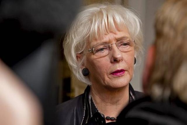 Jóhanna Sigurðardóttir forsætisráðherra.