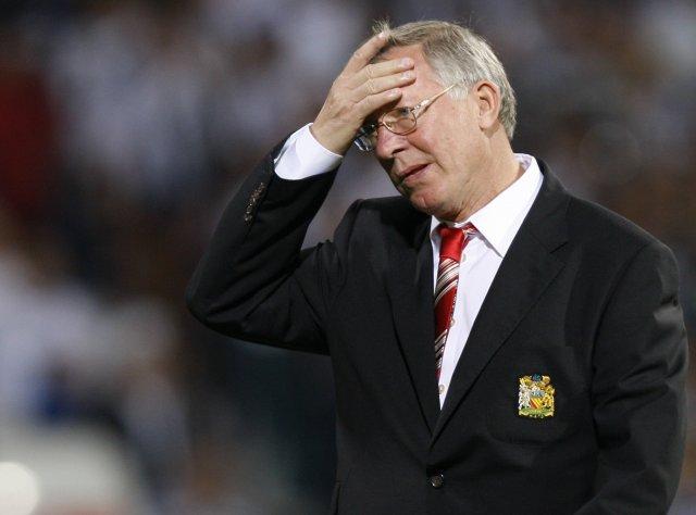 Alex Ferguson er enn í sviðsljósinu vegna ummælanna um Alan ...