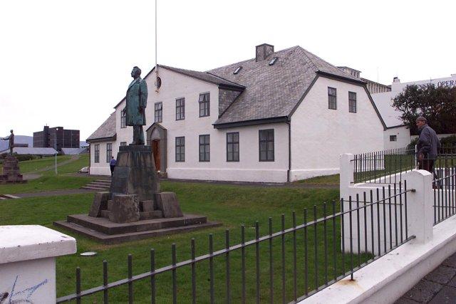 Stjórnarráðshúsið við Lækjartorg.