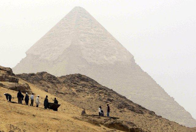 Frá Egyptalandi.
