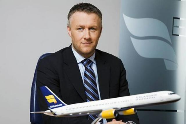 Birkir Hólm Guðnason framkvæmdastjóri Icelandair.