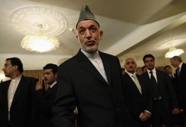 Hamid Karzai, forseti Afganistans.