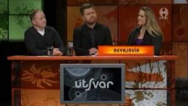 Lið Reykvíkinga í Útsvari.