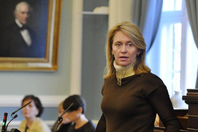 Þorgerður Katrín Gunnarsdóttir.
