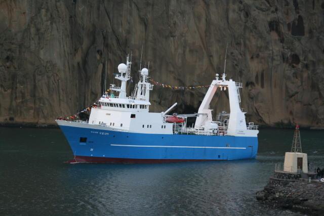 Gandí VE-171 frystiskip Vinnslustöðvar Vestmannaeyja